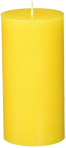 Zest Candle Pillar 6 Inch Yellow product image