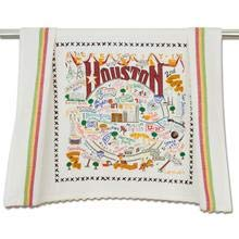 Catstudio Houston, Texas Dish Towel, Tea Towel or Bar Towel | Geography Collection | 20