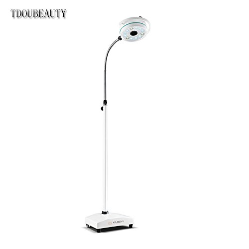 TDOUBEAUTY Portable Mobile LED Surgical Medical Exam Light Shadowless Lamp KD-2012D-3 by TDOUBEAUTY