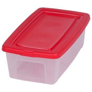 Caja de almacenamiento, caja de almacenaje, caja plastico transparente, caja con tapa, caja organizadora, caja apilable 5 litros - 5 Litros: Amazon.es: ...