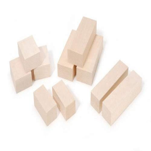 Walnut Hollow Basswood Whittlers Carving Blocks, 10 Piece
