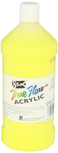 Sax True Flow Heavy Bodied Acrylic Paint - Quart - Chrome Ye