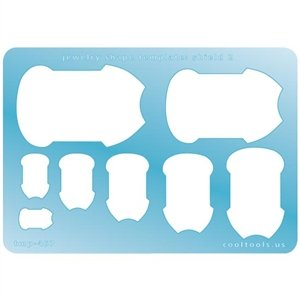 Cool Tools - Jewelry Shape Template - Shield 2