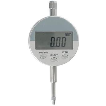 Reloj comparador métrico digital (precisión 0,01 mm , 12,7 mm)