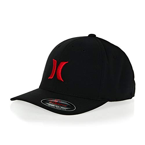 Hurley Dri-Fit One and Only Hat - Black/University Red - S/M ()