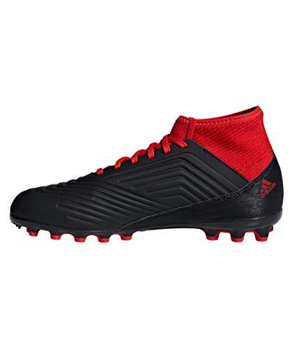 Predator Adidas fútbol 3 18 Negbás 001 Unisex de Botas Rojo Negro Adulto AG J Ftwbla 4nAqAwxdr
