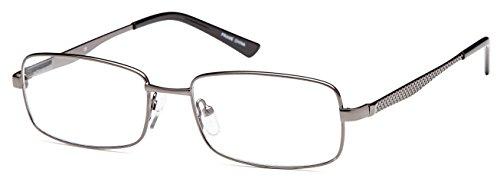 DALIX Boss Prescription Glasses Stainless Steel 54-17-140 (Matte - Prescription Boss Glasses