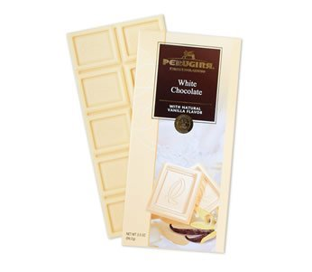 Perugina - White Chocolate with Natural Vanilla Flavor, (4)- 3.5 oz. Bars