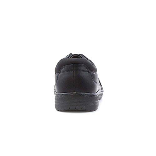 Dr Keller Schwarze Spitze Herauf Beiläufigen Schuh für Männer Schwarz