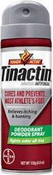Tinactin Antifungal Deodorant Powder Spray 4.60 oz (Pack of 6)