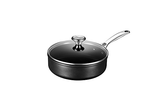 Le Creuset of America Toughened NonStick Saute Pan with Lid, 3.25 quart by Le Creuset