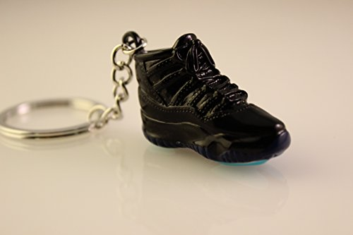 (Jordan Air Retro 11 BRED 1:6 Scale Model XI Cement Varsity Red Gamma Key Chain SUPREME (Gamma (1 Piece)))
