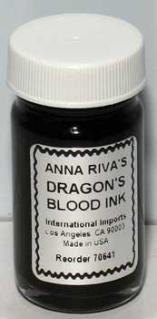 AzureGreen RIDRA Dragons Blood Ink