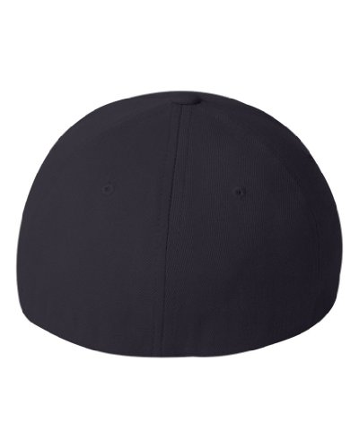 Flexfit Fitted Mid-Profile Structured Wool Cap (Assorted Colors)