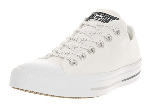 Converse Chuck Taylor All Star White Canvas Trainers White uY8bqUQO