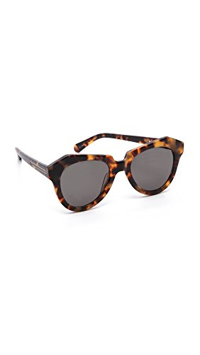 Karen Walker Women's The Number One Sunglasses, Crazy Tort, One Size