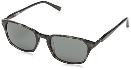 John Varvatos Herren V782 Smk Oval Sonnenbrille, Smoke