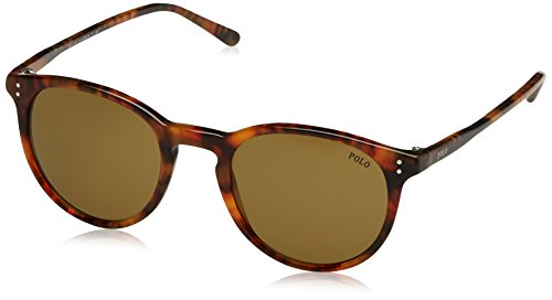 Polo Ralph Lauren Men's 0ph4110 Wayfarer Sunglasses, Shiny Havana Jerry, 50 - Ralph Havana Sunglasses Lauren