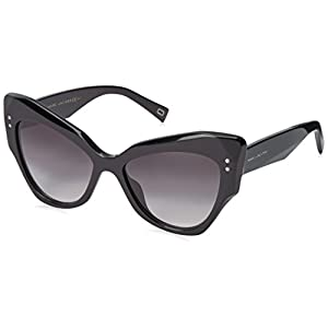 Marc Jacobs Women's Marc116s Cateye Sunglasses, Black/Dark Gray Gradient, 52 mm