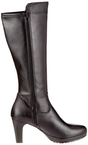 Women's black High 21 1 Boots Tamaris 25548 Black vqZHSZn