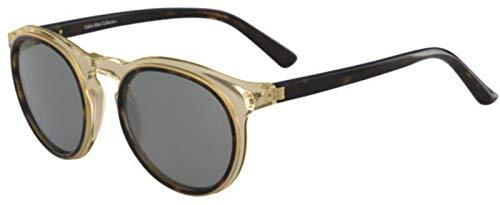 Calvin Klein Acetate Frame Silver Lens Ladies Sunglasses ()