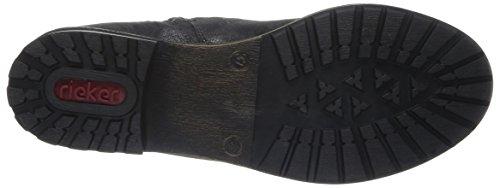 Rieker K3485 45, Bottes femme Noir (Graphit / 45)