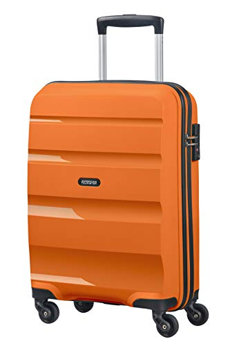 American Tourister Bon Air – Spinner Small Strict Equipaje de Mano, 55 cm, 31.5 Liters, Naranja (Tangerine Orange)