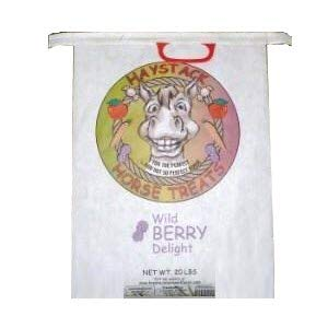 Haystack Wild Berry Horse Treats Healthy and Natural Mineral Food 20 lbs Bag