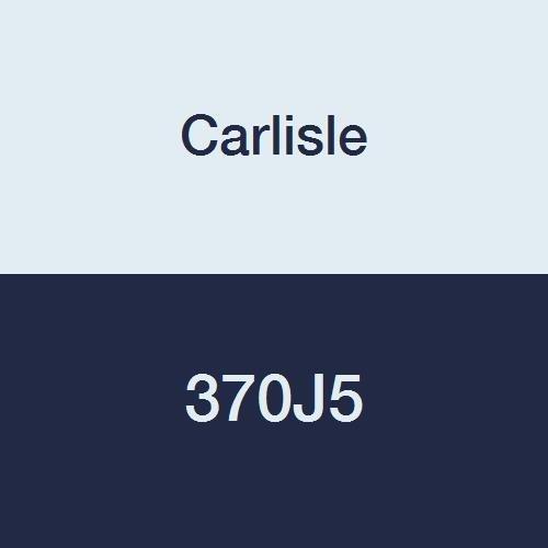 Carlisle High Performance Belt (CARLISLE 370J5 V-Ribbed Belts with 5 Ribs, J Section, Rubber, 0.46 Belt Width, 37.5
