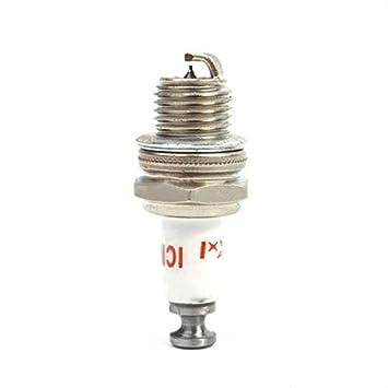 HITSAN RCEXL ICM-6 - Bujía para motor de gasolina DLE30 DLE55 DLE111 DLA56 DLA32 DLA112 EME55 (10 mm): Amazon.es: Bricolaje y herramientas
