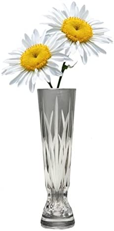 Hi-Ball Tall Glass Vase Table Centrepiece Decorative Flower Display Floral Decor