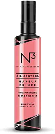 N3 No Name Necessary Pore-Minimizing Mattifying Oil and Shine Control Anti-aging Makeup Face Primer Spray (200ml)