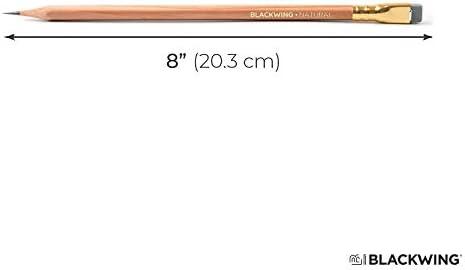 Blackwing Set of 3 \u2013 Volumes 211 Palomino Cedar Wood Natural Finish Pencil CalCedar and Extra Firm