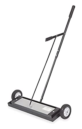 Image result for Westward 1Vty2 Rolling Magnetic Sweeper,150 Lb Pull