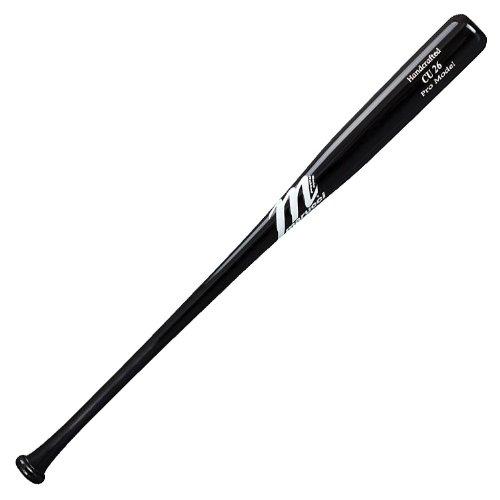 Marucci CU26 Chase Utley Pro Model Wood Base Bat, Black, 31-Inch/29-Ounce