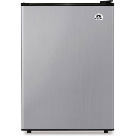 Stainless Dirk 2.6 cu. ft. Compact Refrigerator by IGLOO