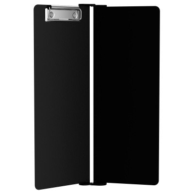 Black Vertical ISO Clipboard