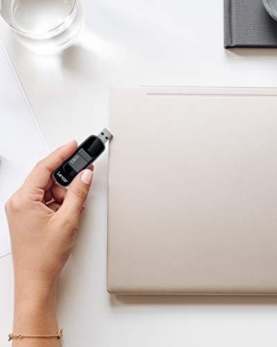 Lexar Jumpdrive S75 128GB USB 3.1 Flash Drive (Black), LJDS75-128ABBKNA