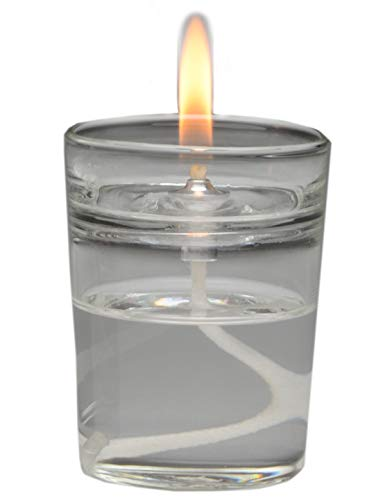 (Firefly Zen Petite Refillable Glass Oil Warmer Aromatherapy Candle - Votive Size - Easily Change Essential Oils and Home Fragrances)