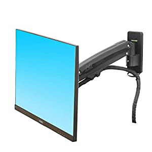 "NB North Bayou Monitor TV Wall Mount Bracket LED LCD TV Mount Gas Strut Arm Fits 27""- 45"" Computer Monitors or TV Within 6.6lbs to 28.6 lbs"
