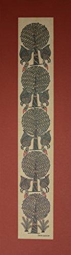 Birds of a Tree, Decorative Design - Madhubani Folk Art