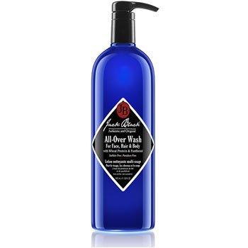 Jack Black All-Over Wash For Face, Hair & Body, 33 fl. oz.
