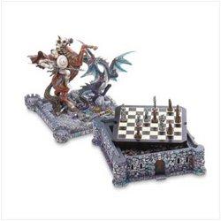 Dragon & Knight Chess Set Games