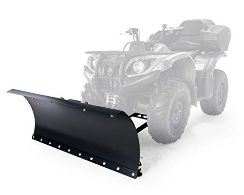 Black Boar ATV Snow Plow Kit-48 with 9-Position Blade Angle, Adjusts to 30 Degrees to Each Side (66016)