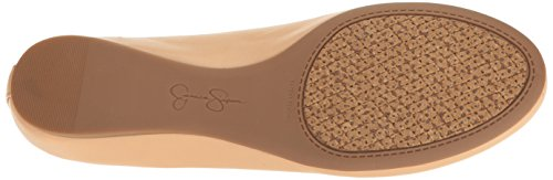 Jessica Simpson Women's Mandayss Ballet Flat, Parent Natural