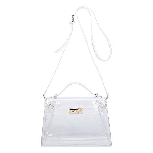 b7471c61277 Lam Gallery Womens Clear Handbags Shoulder Crossbody Bags for ...