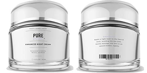31ta4fMTVgL - Pure Biology Premium Night Cream Face Moisturizer with Retinol, Hyaluronic Acid & Anti Aging, Wrinkle Firming Complexes - Collagen Boosting Skin Care for Men & Women, 1.6 oz