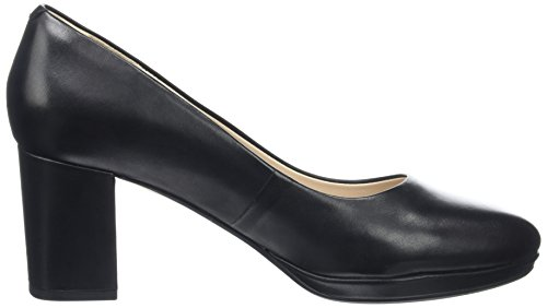 Kelda Donna con Nero Tacco Clarks Leather Black Hope Scarpe ZgqAwxwHp