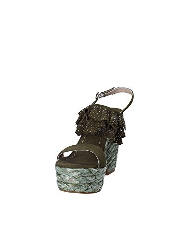 Wedge Sandals Pena V18350 Women Alma Green en qBtwIPaq7