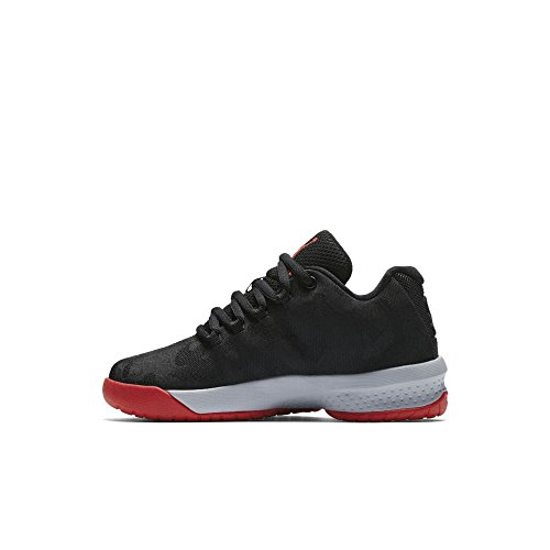 Nike JORDAN B. FLY BP mens fashion-sneakers 881445-015_3Y - BLACK/UNIVERSITY RED-WOLF GREY by NIKE